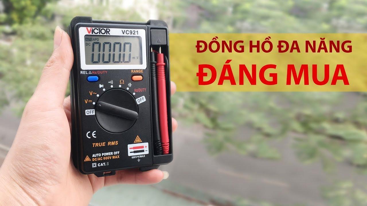 Trên Tay Đồng Hồ Đa Năng VC921 – Đồng Hồ Đa Năng Giá Rẻ Đo Được Cả Tần Số