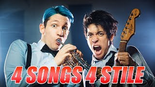 STYLE MIX: 4 SONGS in anderen STYLES