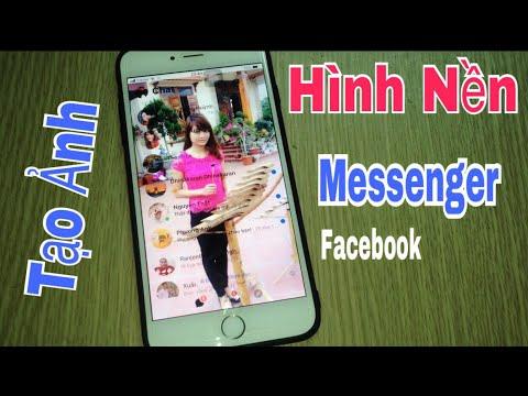 Cách Tạo ảnh Kiểu Hình Nền Messenger Facebook Cực Hay