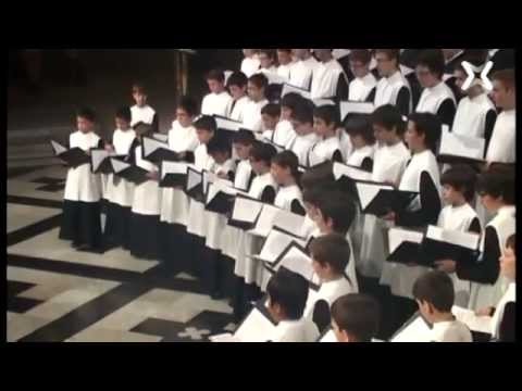 Escolania de Montserrat : E. Elgar - Psalm 48 - Great is the Lord