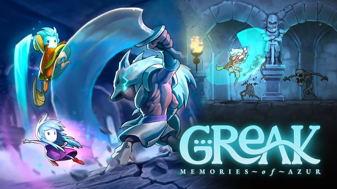 Don't Miss This Incredible Hand-Drawn Action Puzzle Platformer | Greak Memories of Azur