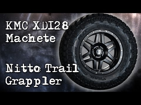 KMC XD128 Machete Wheels and Nitto Trail Grappler Tires Overview | Perdition