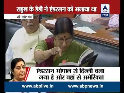Sushma explains 'Quid pro quo' to Rahul: War of allegations takes a new turn