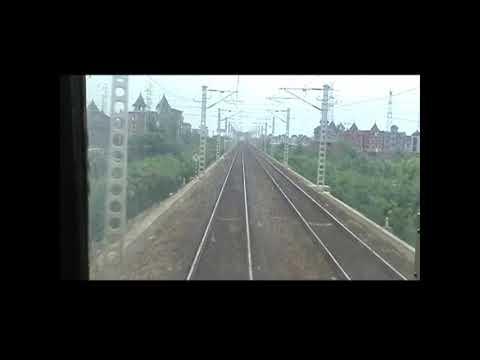 china Diesel Locomotive DF4 Ride -part1