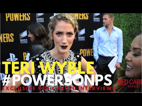Teri Wyble ed at the POWERS the Series Season 2 Premiere Event POWERSonPS