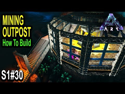 ⛏ ARK HOW TO BUILD A MINING OUTPOST!! Ark Survival Evolved Aberration Gameplay Ep30