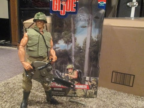 GI Joe 2000 Vietnam Combat Engineer Bravo Collection Review