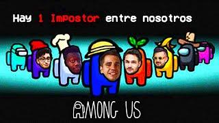 TRAICIONES EN AMONG US 😒😭 con Spursito, Vituber, Koko, Papi Gavi...