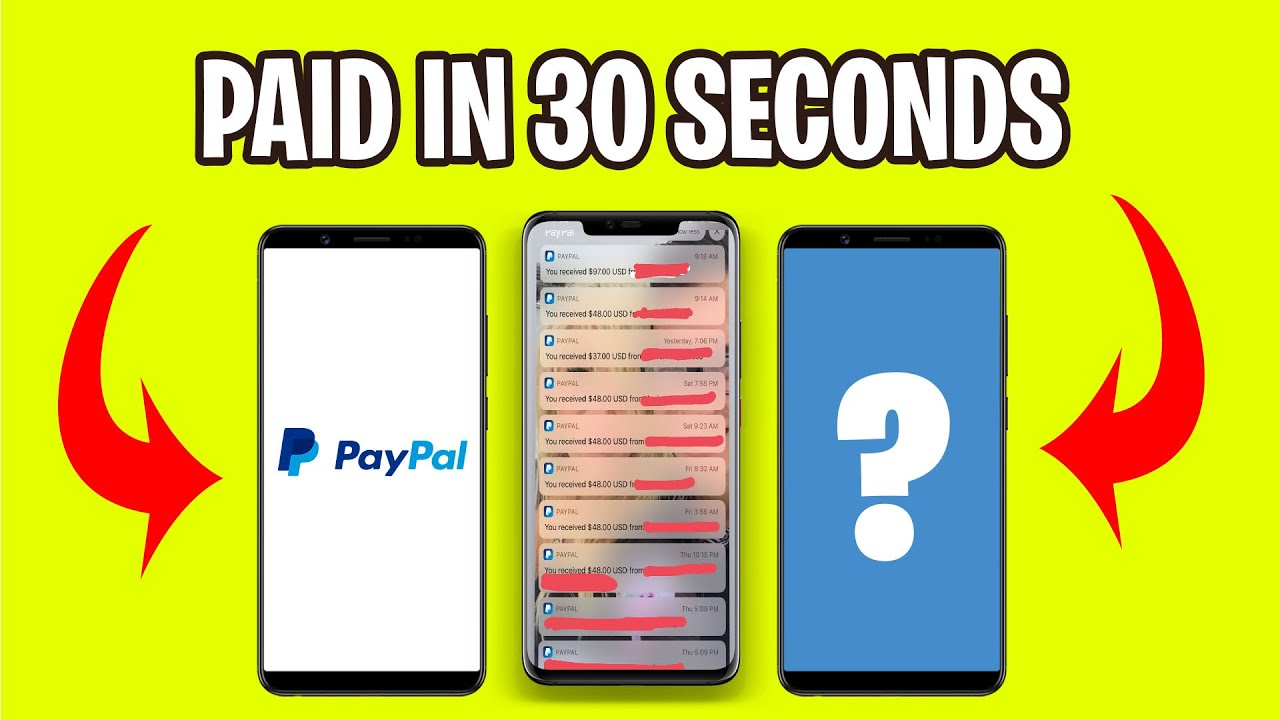 5 Apps That PAY YOU $100 IN PAYPAL MONEY (Make Money Online Today)