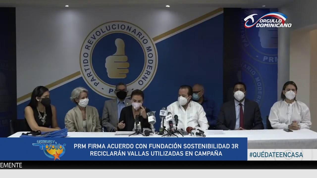 PRM reciclará vallas utilizadas en campaña