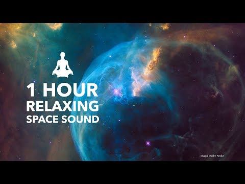1 Hour Space Relax Sound - Deep Space Floating Exploration Sound