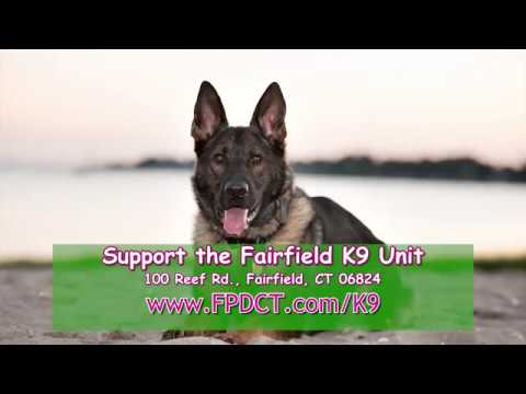 Did you know the Fairfield Police Department K9 Unit is supported entirely by donations from the public?