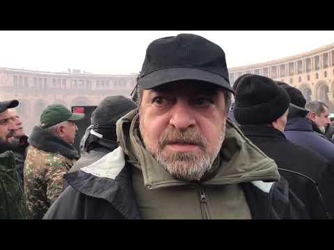 Актер Тохатян о ситуации в Армении: народ перестал верить в лидеров