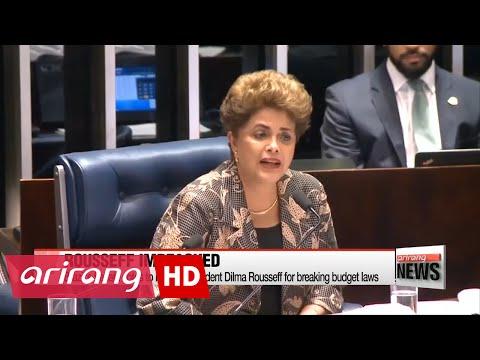 Brazil Senate votes to oust President Dilma Rousseff