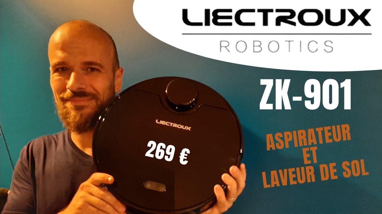 Download LIECTROUX zk901 : test complet de l'aspirateur robot laveur de sol avec capteur Lidar à bas prix