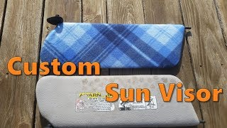 How To Wrap Custom Sunvisor