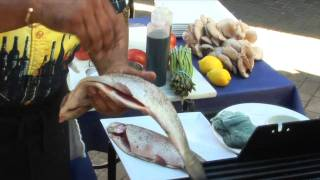 How To Grill A Whole Fish - With Chef Romy Prasad .mov