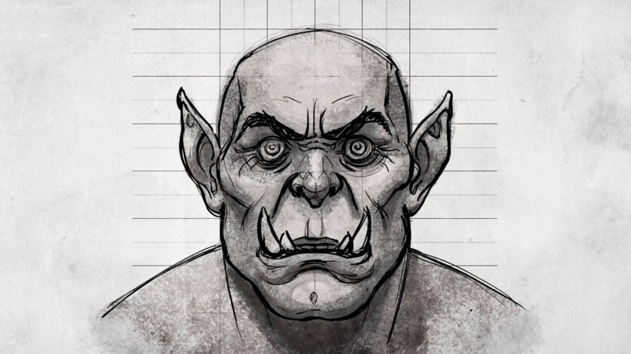 Tutorial Disegno Lezione Come Disegnare Un Orco In Stile World