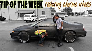 (TIP OF THE WEEK REVIVING CHROME)SUBSCRIBER MONTE CARLO ON DUB WHEELS