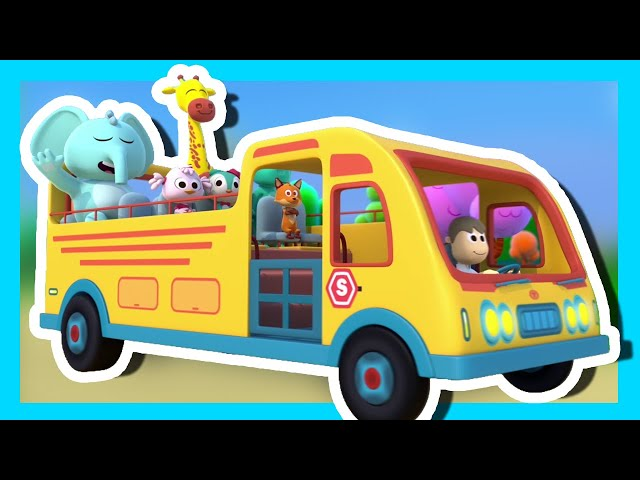 The Wheels On The Bus - Songs for kids, Children's Music