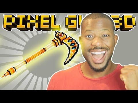 ULTIMATE GOLDEN SCYTHE!!   Pixel Gun 3D