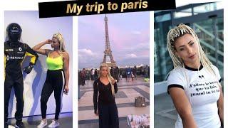 سفري الي عاصمة الموضة باريس my trip to Paris