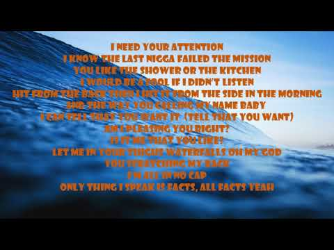 TK Kravitz Ft. Jacquees - Ocean (Lyrics on Screen)
