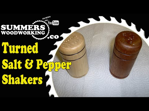 How To Make Salt And Pepper Shakers - 2015 Kitchen Utensil Challenge