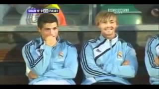 רונאלדו צוחק על מסי - Ronaldo laughs on messi