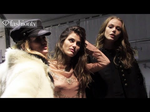 H&M Fall/Winter 2013-14 BACKSTAGE ft. Arizona Muse | Paris Fashion Week | FashionTV