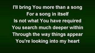 The Heart of Worship (worship video w/ lyrics)