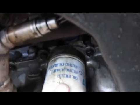 Loose Oil Filter Damages Engine