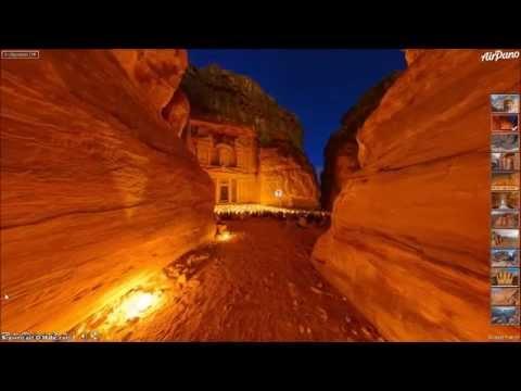 Petra, Jordan ~ AirPano