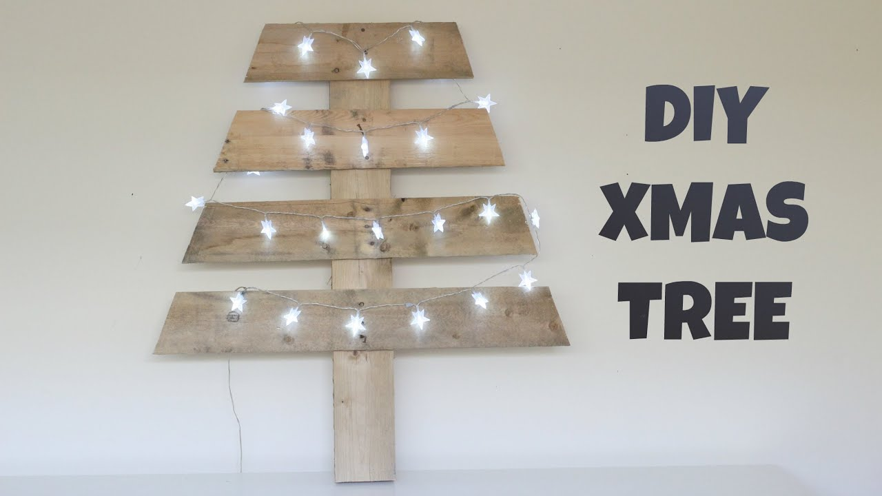 diy wooden christmas tree youtube - Wooden Christmas Tree