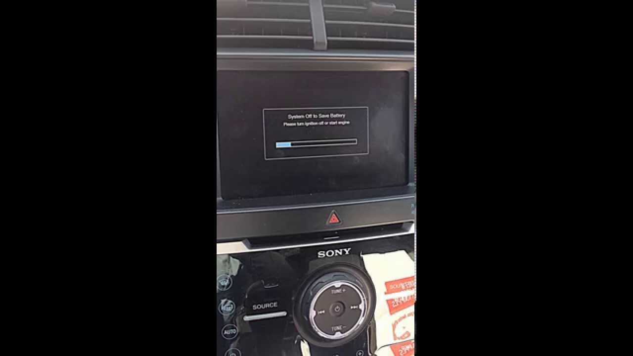 Ford Edge System Battery Saver