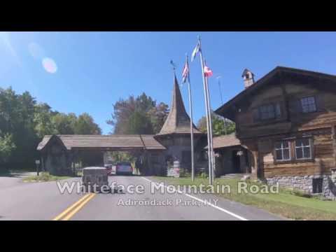 Whiteface Mountain Road - Adirondack Park, New York