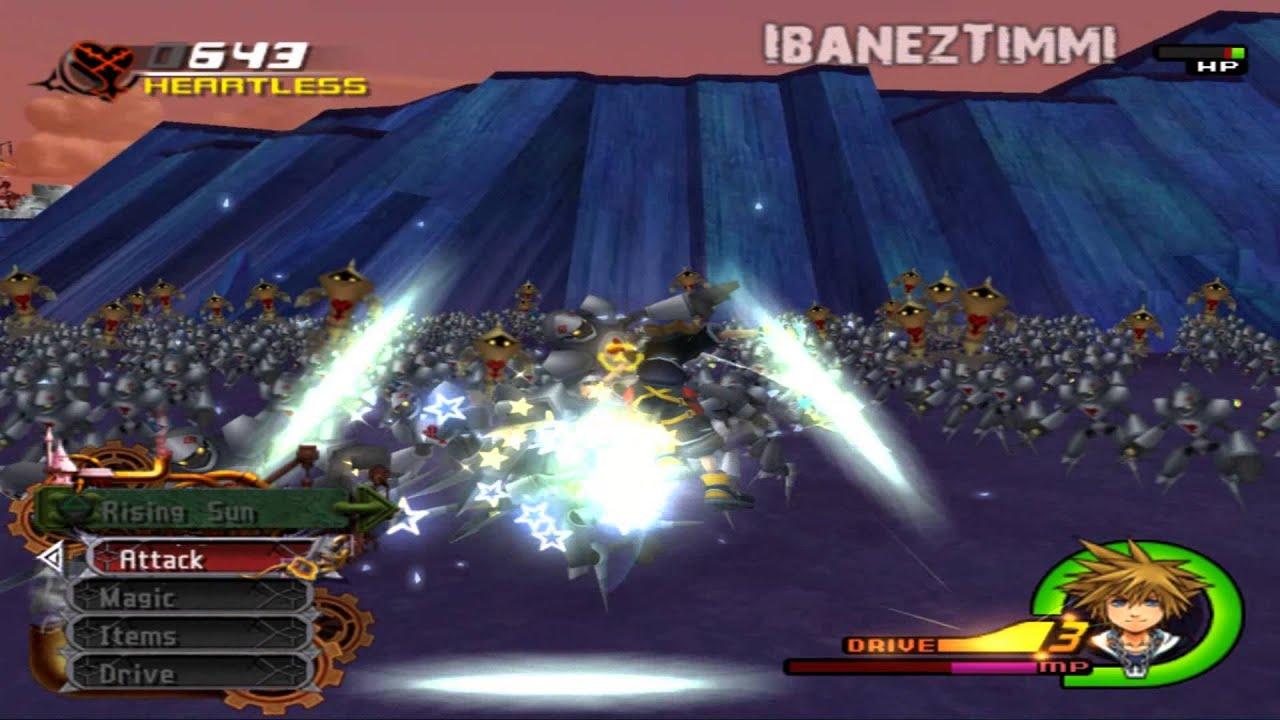 Kingdom Hearts 2 Final Mix [ENG]: Battle of thousand Heartless ...