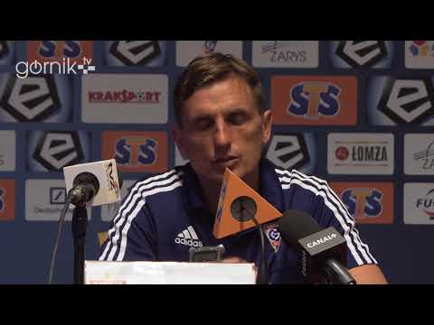 Górnik Zabrze 2-2 Korona Kielce. Konferencja prasowa: Marcin Brosz (09-05-2018)