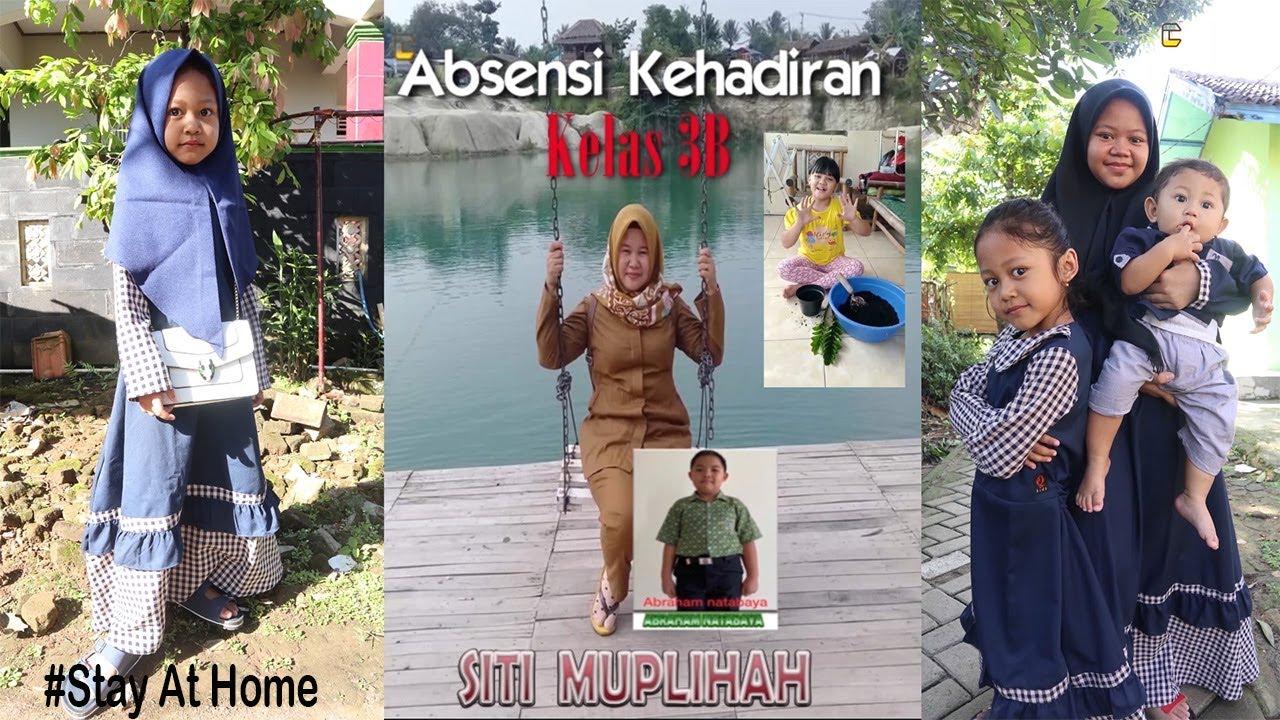 Membuat Absensi photo Siswa SD Kelas 3B   SDN Balaraja 1