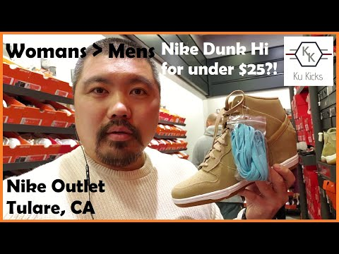 Worst Nike Outlet in Cali?! [Tulare]