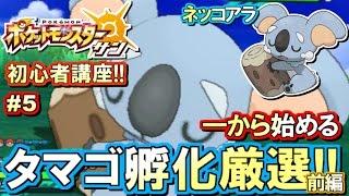 【ポケモンSM】初心者講座!ポケモン サンムーン実況プレイ!Part5 【はじ…