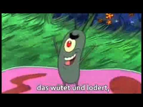 F U N Song by SpongeBob & Plankton + Lyrics GERMAN - YouTube