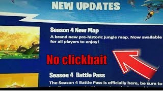 FORTNITE MAP REVEALED! *real* MAP of the 4 BATTLE PASS