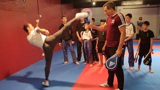 Todays Taekwondo Seminar - Tek Kickboxing Nottingham 2018 #2