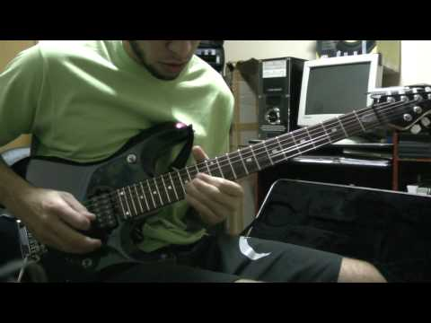 Dream Theater - Innocence Faded outro Solo - Thiago Campos