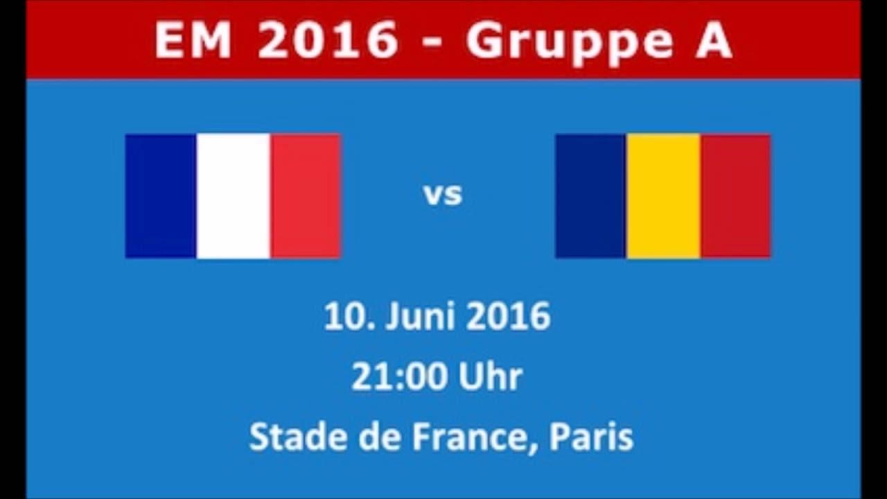 Em Tipp Frankreich Rumänien