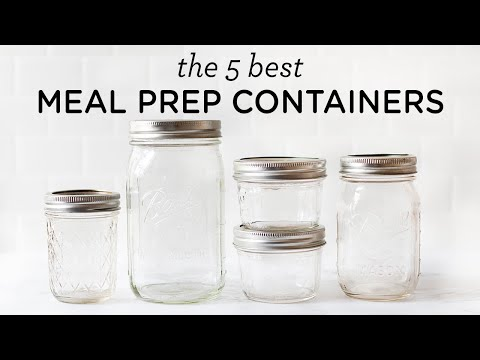 5 BEST MEAL PREP CONTAINERS ‣‣ non-toxic & safe