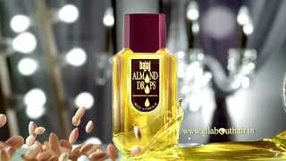 Bajaj Almond Drops Hair Oil - Golden Drops Ad