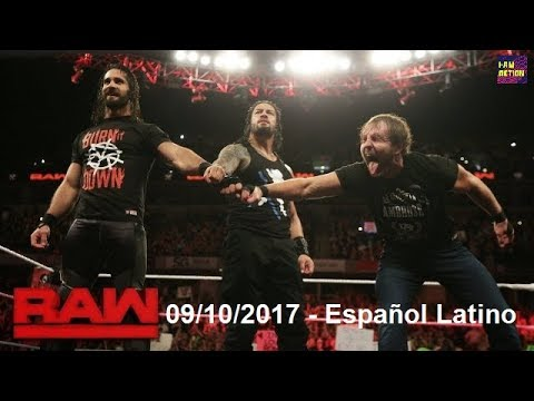 The Shield se reune y ataca a Braun Strowman - 9/10/2017 - WWE RAW en Español Latino