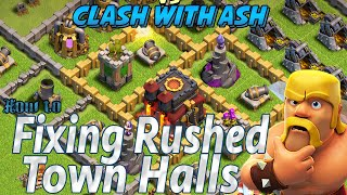 Clash Of Clans | How to Fix A Rushed Village | Upgrade & Farming Tips